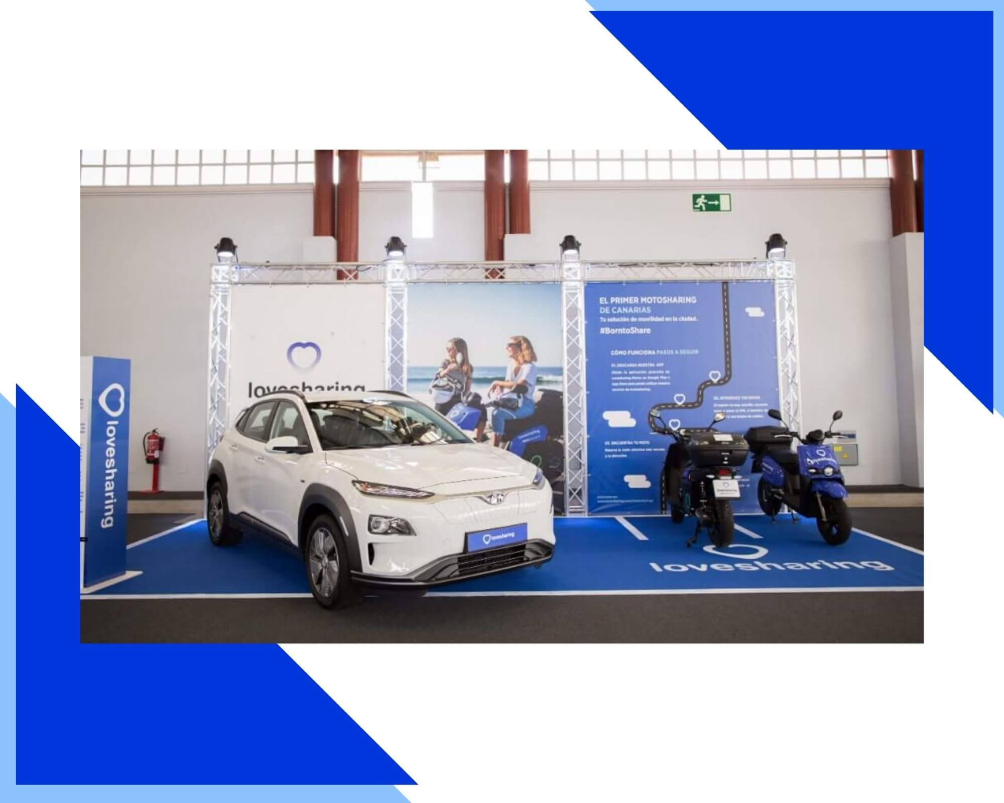 salon vehiculos electricos de Canarias