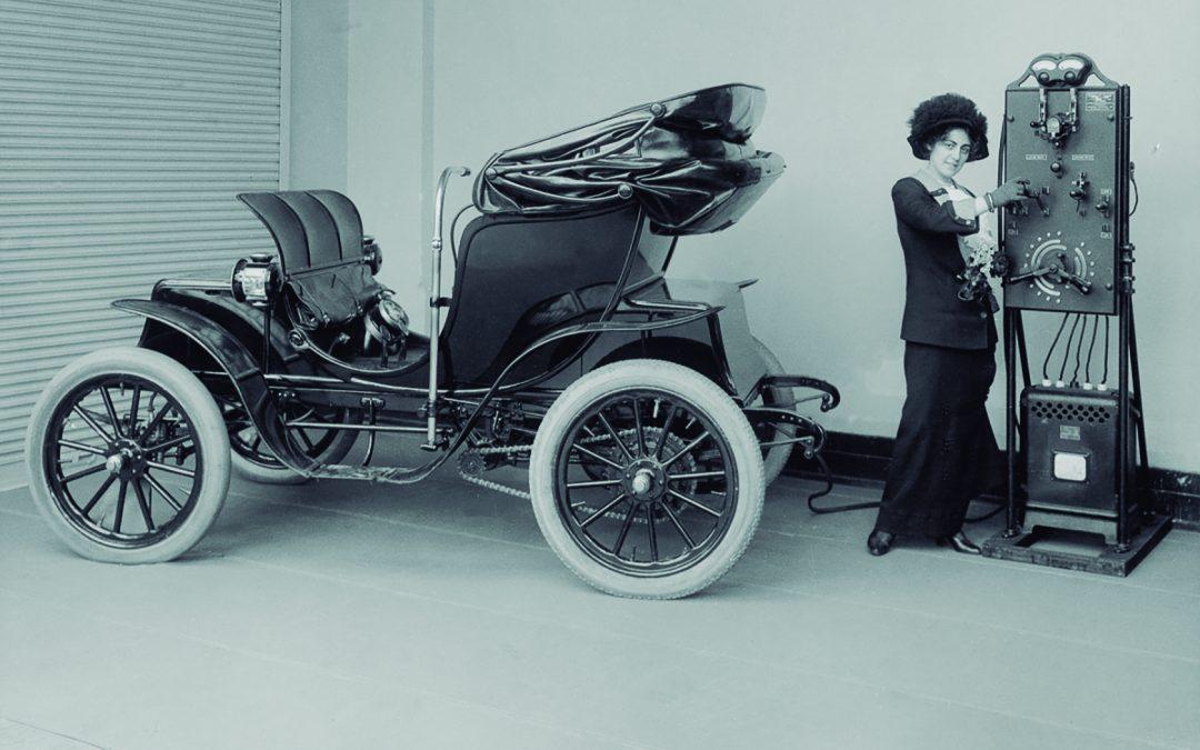 automovil electrico historico