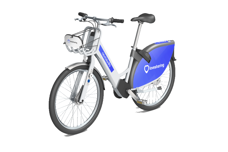 como funciona una bici electrica