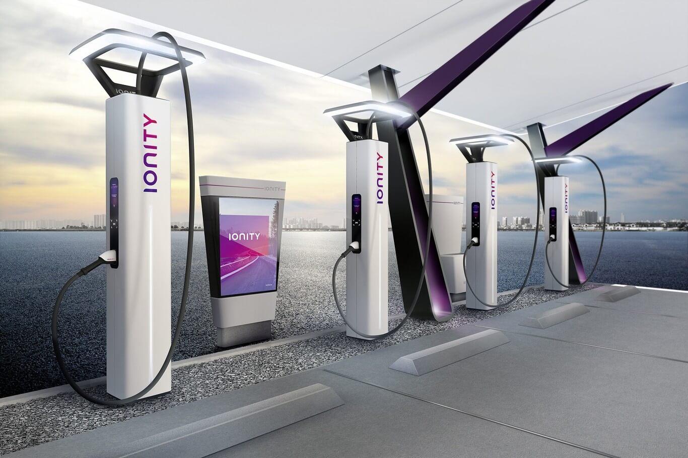 puntos de recarga coches electricos