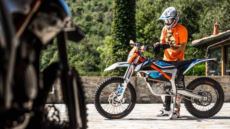 motocicletas electricas de enduro