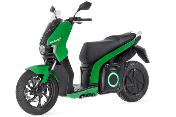 motocicletas electricas silence