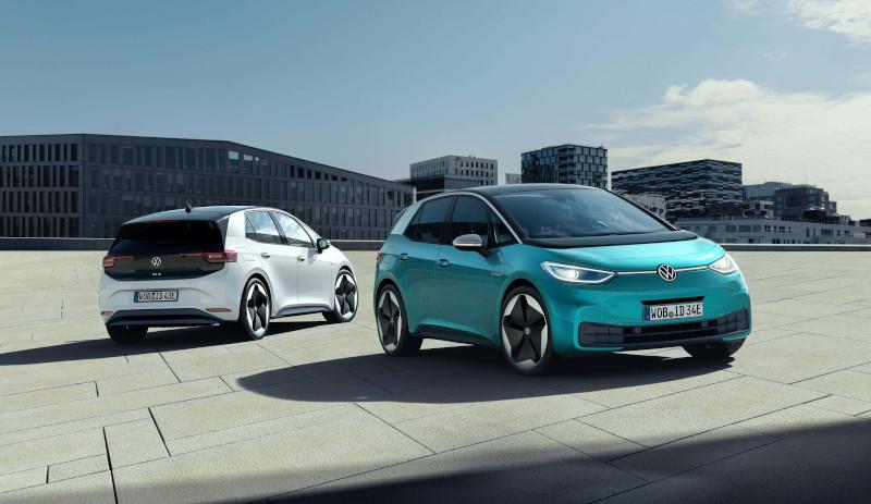 coches electricos familia id volkswagen