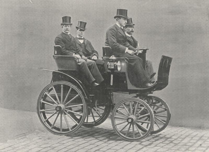 vehiculo electrico historico