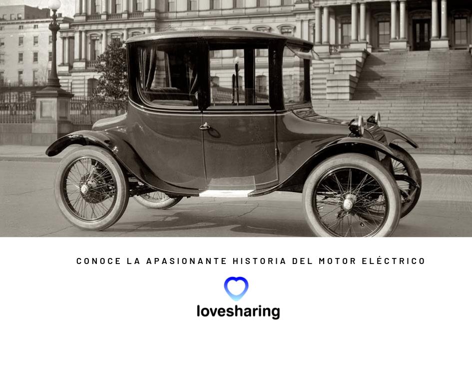 Quien invento el primer motor electrico