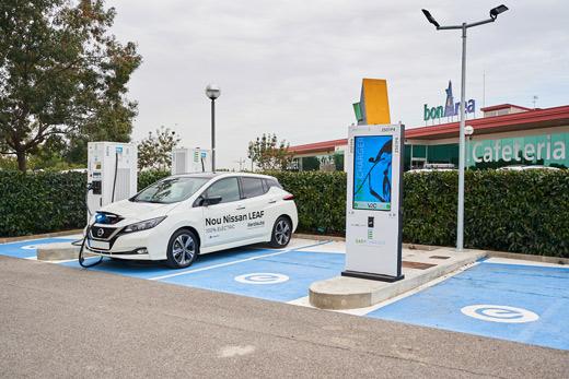 precio punto carga coche electrico